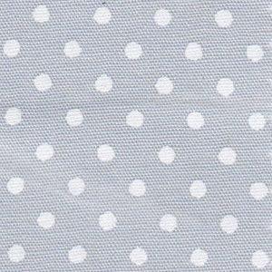 White Polka Dots on Grey 2166