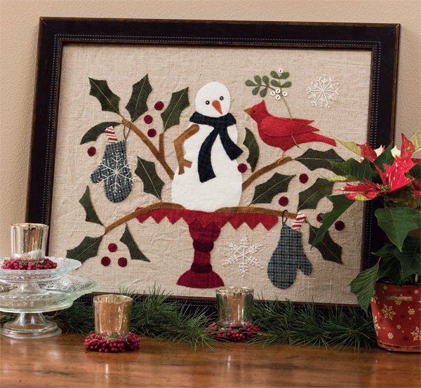 Winter Wonders Wool Applique Kit