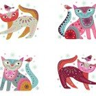Stitch Cats Panel