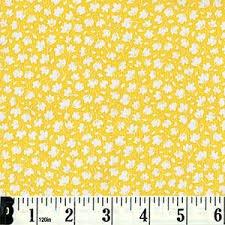 Robert Kaufman ADZ-15720-140 Yellow Floral