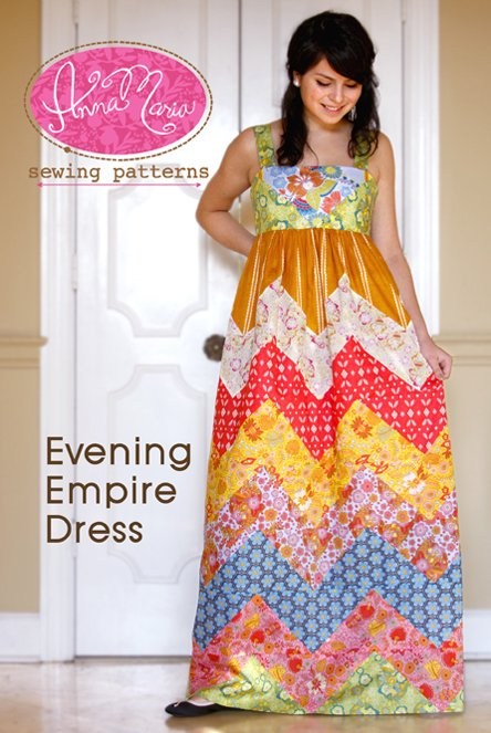 Evening Empire Dress Pattern