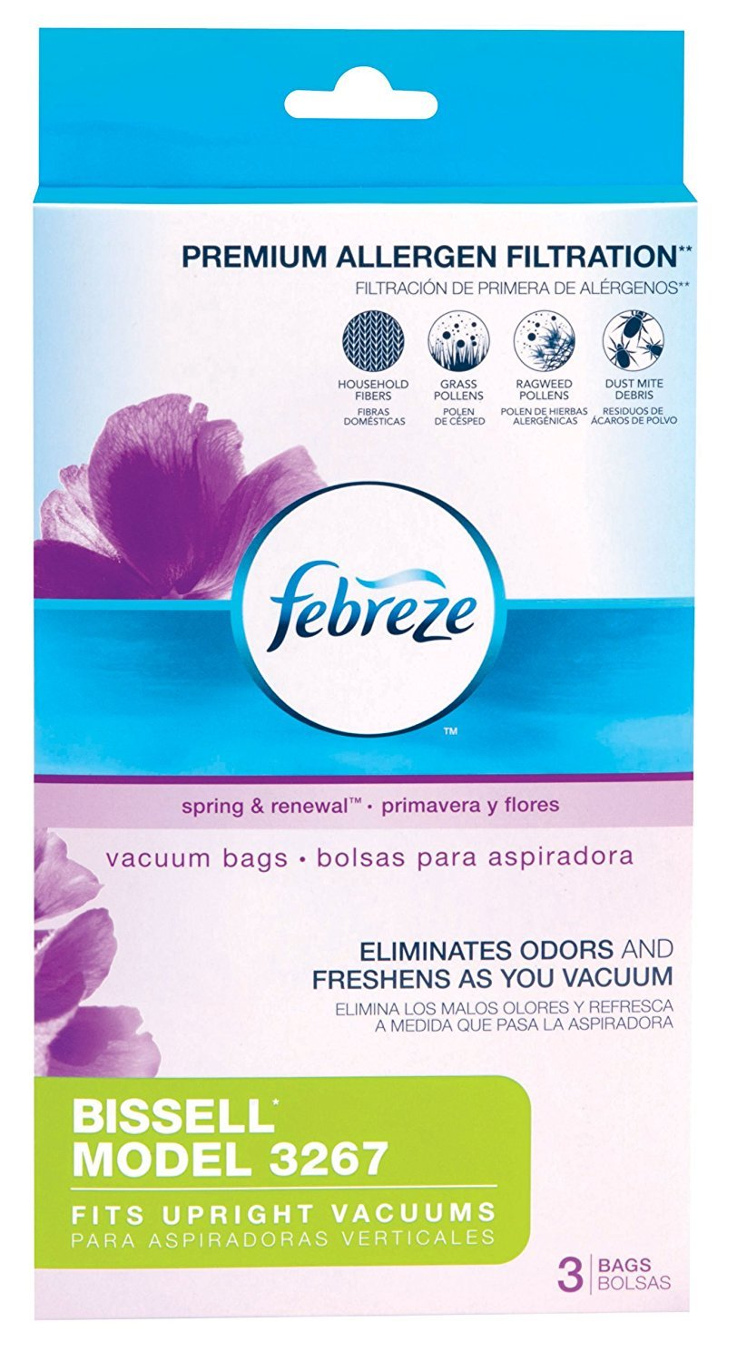 Bissell Model 3267 Febreeze Vacuum Bags