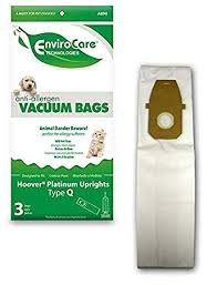 Hoover Platinum Uprights Type Q Anti Allergen Vacuum Bags by EnviroCare