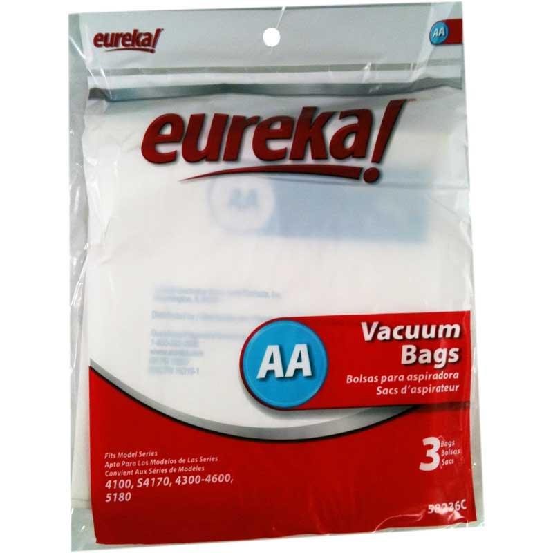 Eureka AA Vacuum Bags 3 Pack