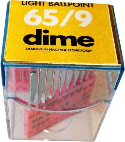 Light ballpoint 65/9 Dime needle