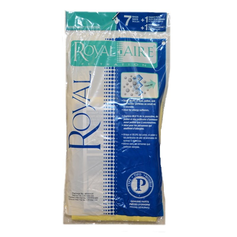 Royal Type P Vacuum Bags + Filters