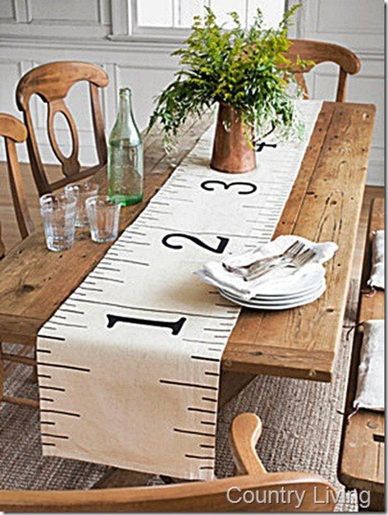 16 x 72 6ft Ruler Table Runner