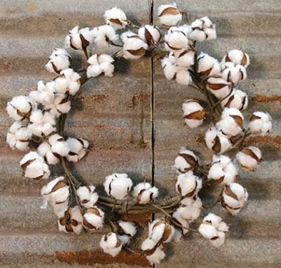 Cotton Rings with Shells