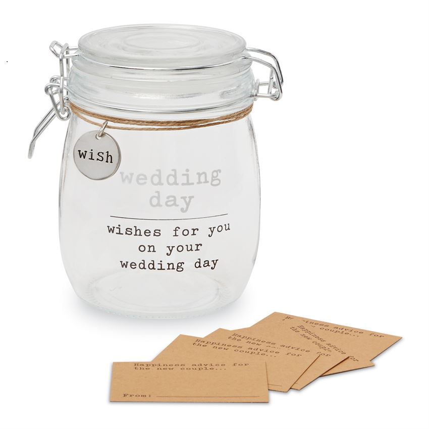 Wedding Sentiment Jar