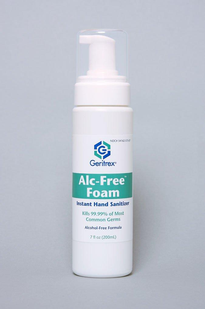 GERITREX Alcohol Free Foam Hand Sanitizer