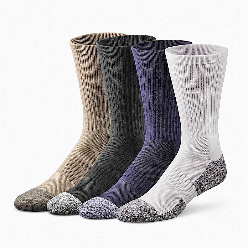 DrCOMFORT Shape To Fit Socks NVY MD