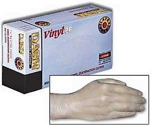 DASH Powder  Free Vinyl Gloves SM