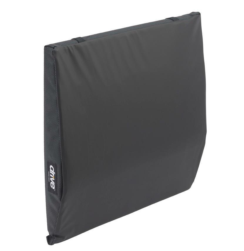 DRIVE Wheelchair Back Cushion w/ Lumbar Support