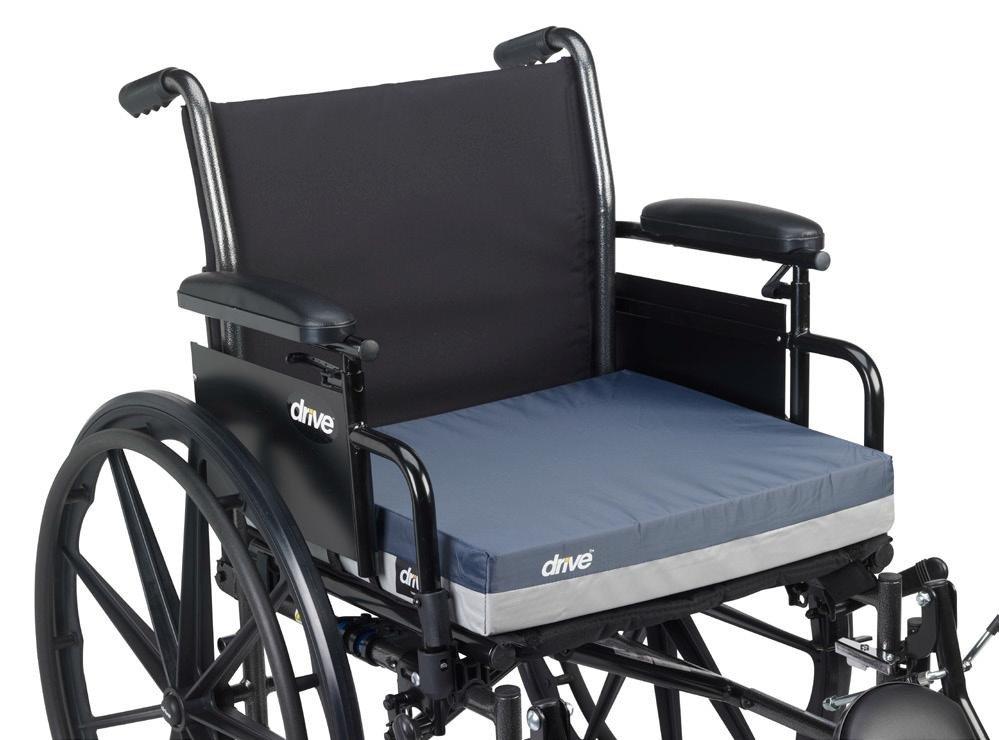 DRIVE Gel E 3 Wheelchair Seat Cushion