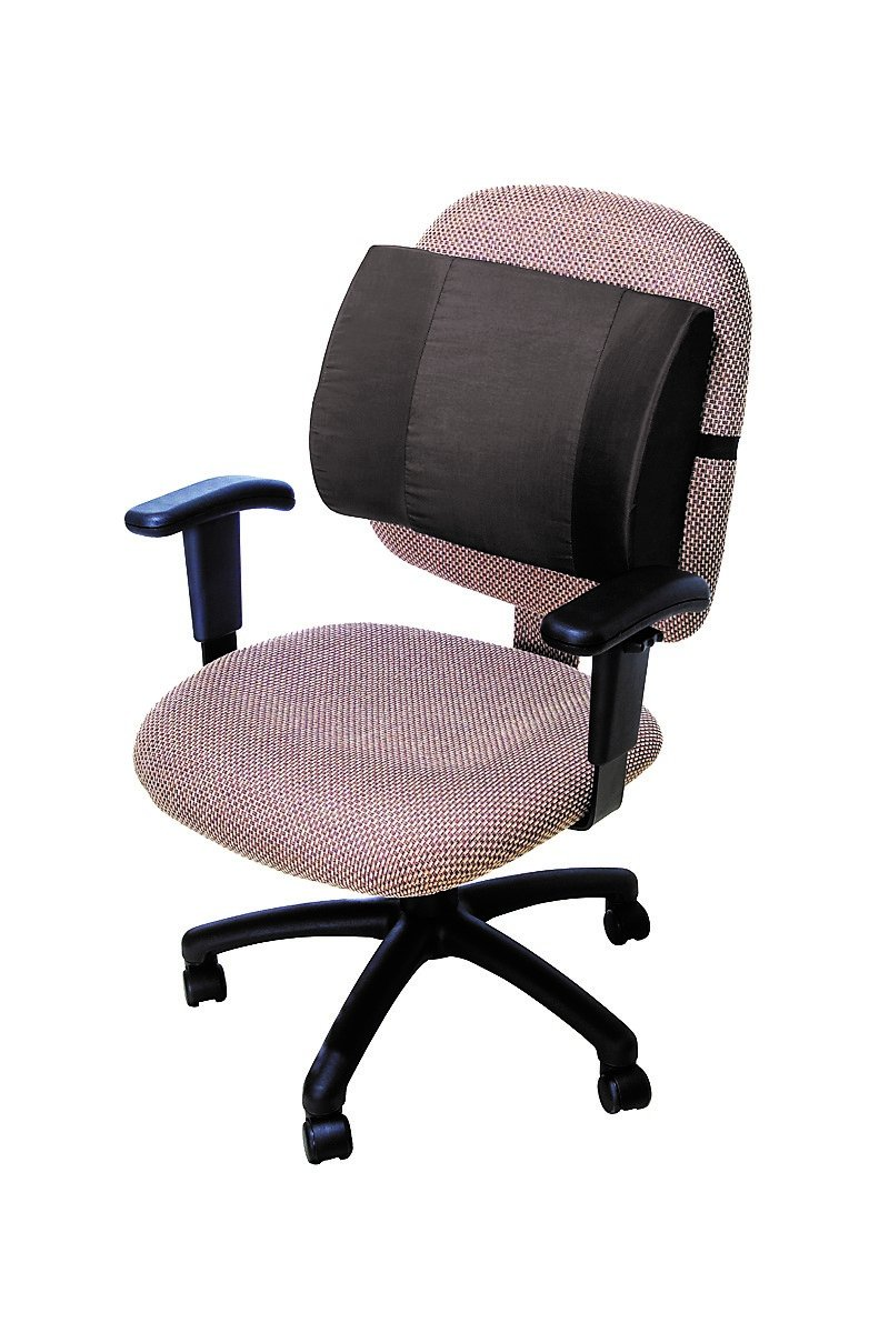 ESSENTIAL Deluxe Extra-Wide Lumbar Cushion BLK