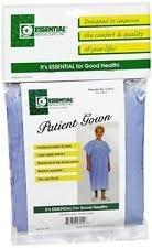 ESSENTIAL Patient Gown with Tie Back BLU