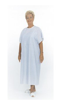 ESSENTIAL Patient Gown with Tie Back WPT