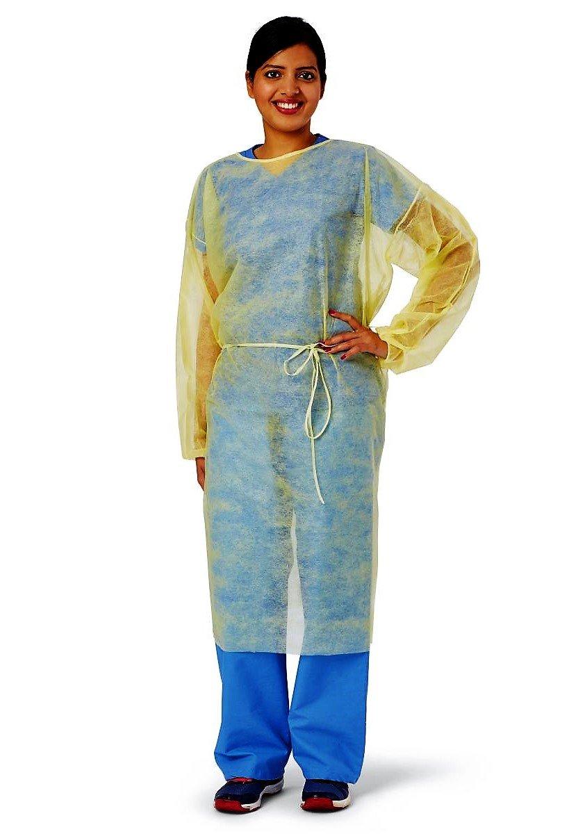 MEDLINE Classic Lightweight Polypropylene Isolation Gowns