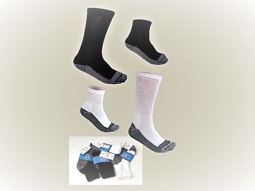 MR Men's Diabetic Socks CREW 6-12