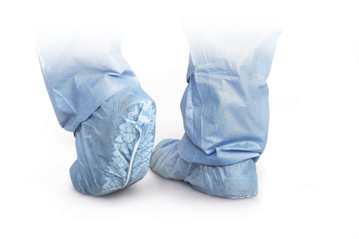 MEDLINE Spunbond Non-Skid Shoe Covers XL