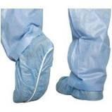 MEDLINE Spunbond Smooth Bottom Shoe Covers XL