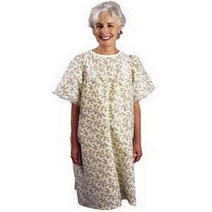 SALK TieBack Patient Gown YLW