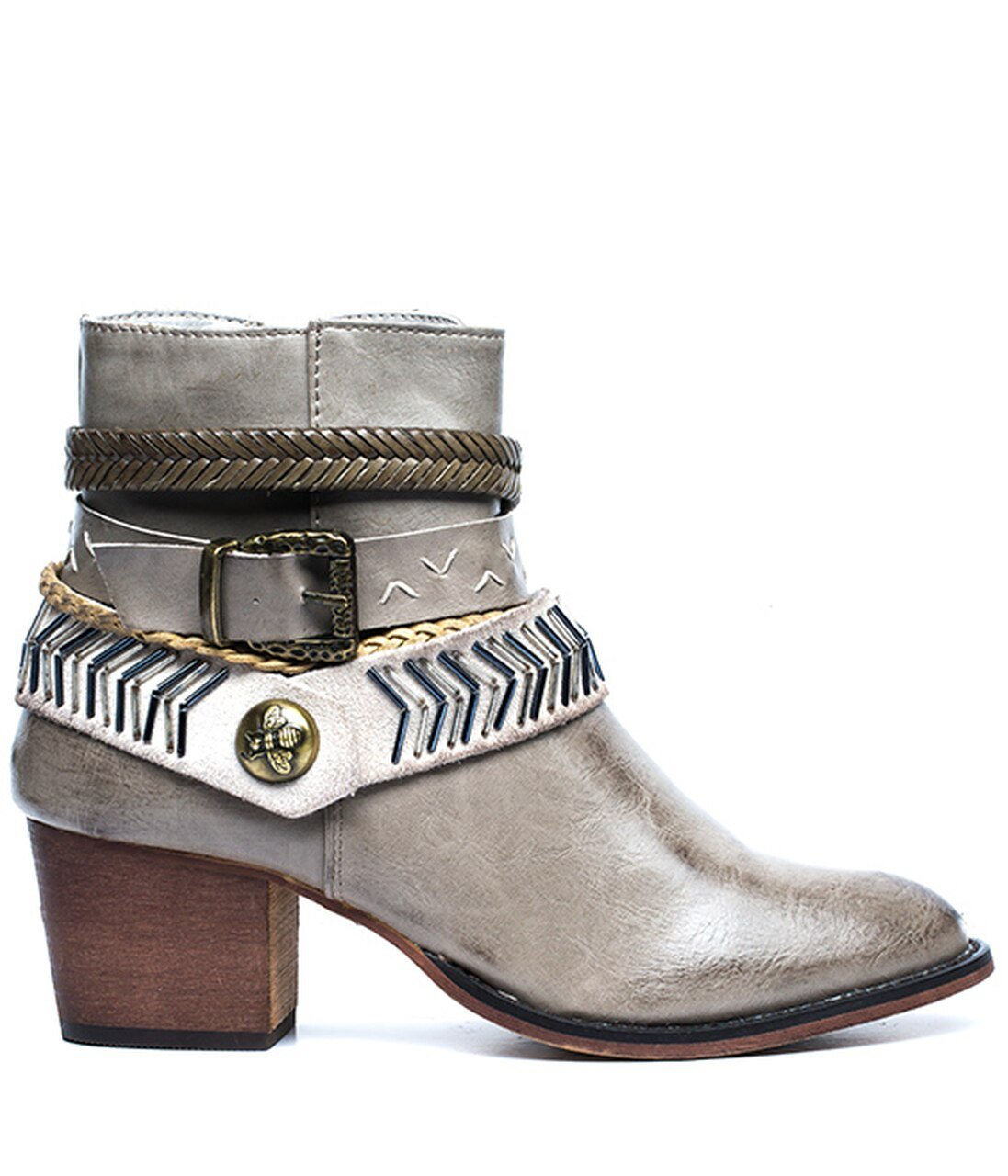 Randee Short Boot- Taupe