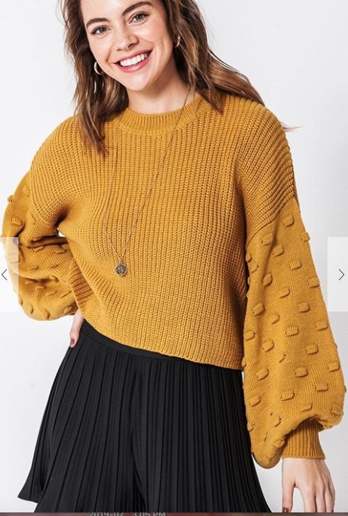 Balloon Sweater