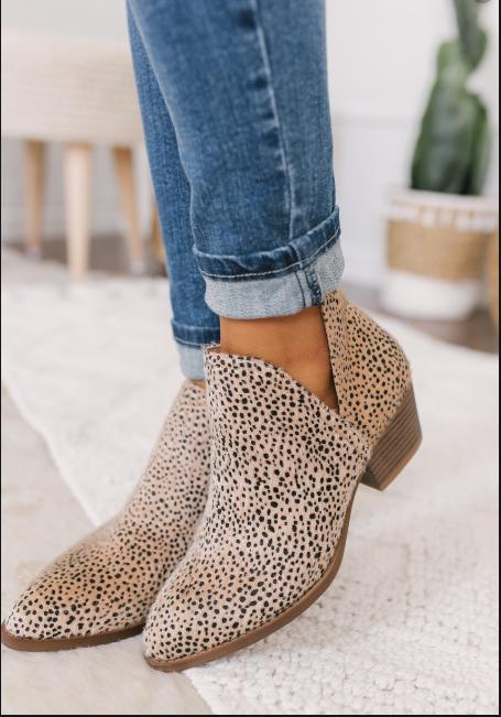 Caring Cheetah Bootie