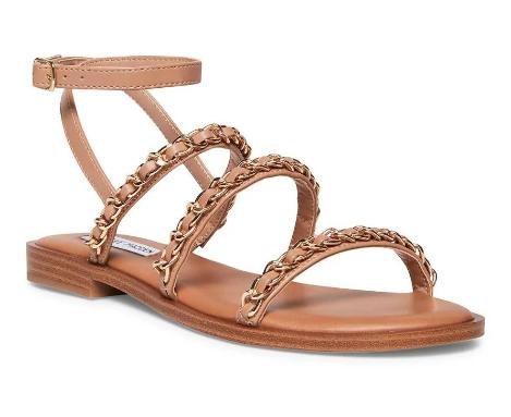 The Telsa Sandal- Tan