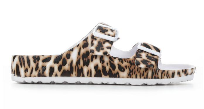 Jasmin Sandal - Leopard
