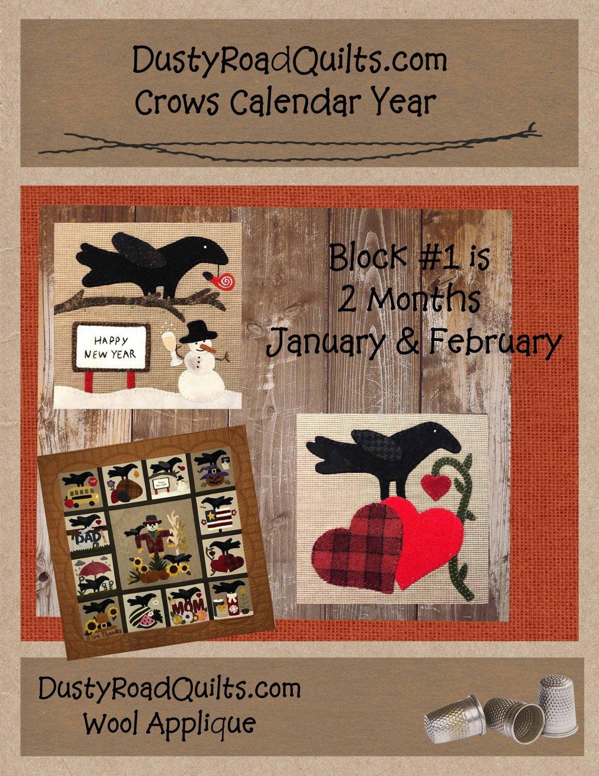 Crows Calendar Year Pattern