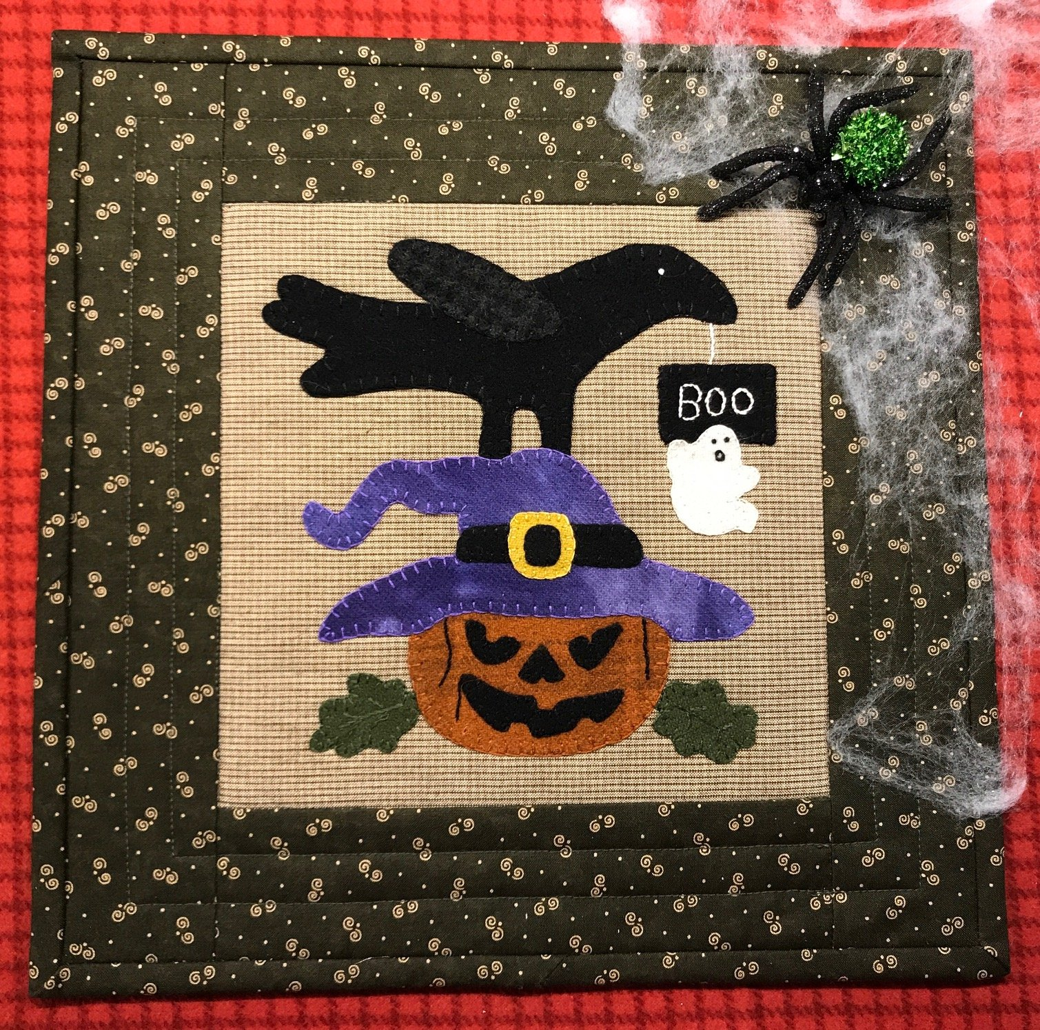 Crows Scary Scary Nite  Pattern & Kit