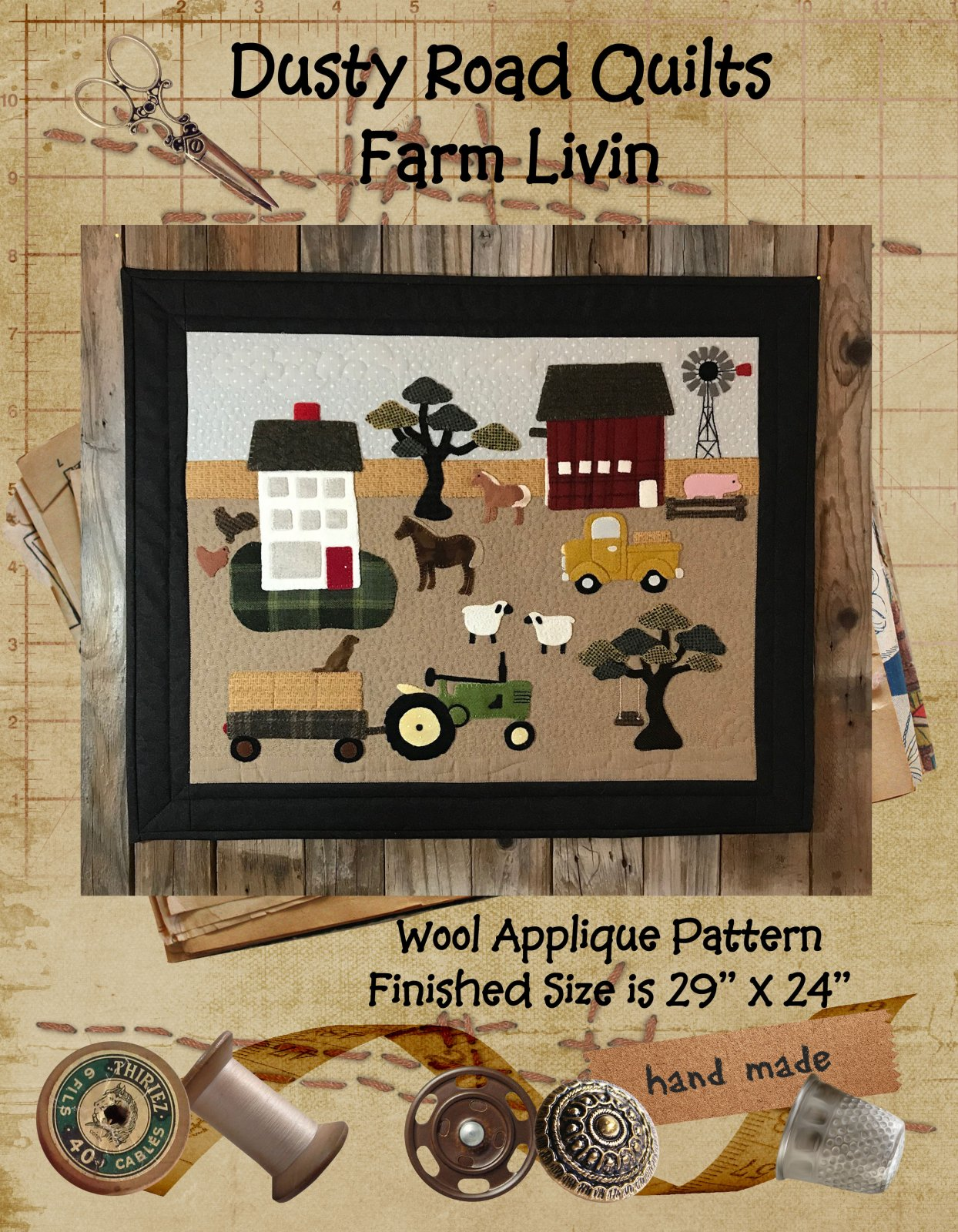 Farm Livin Pattern Only