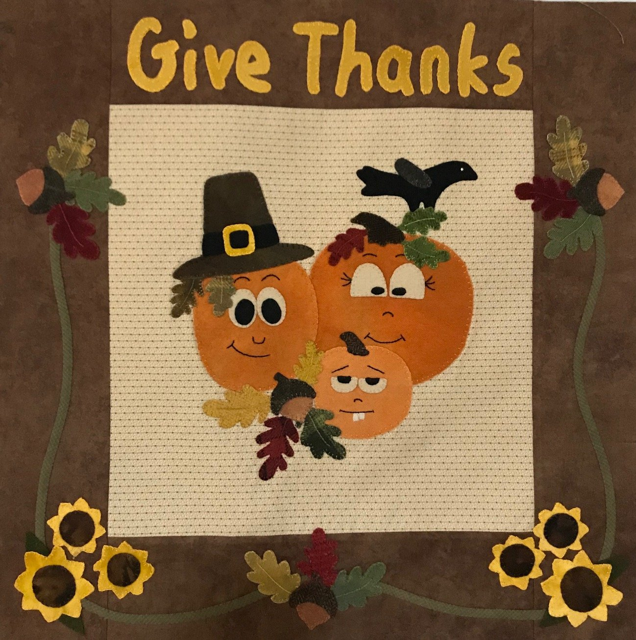 Happy Thanksgiving Pattern and Kit