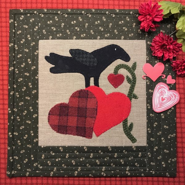 A Crows Valentine Pattern & Kit