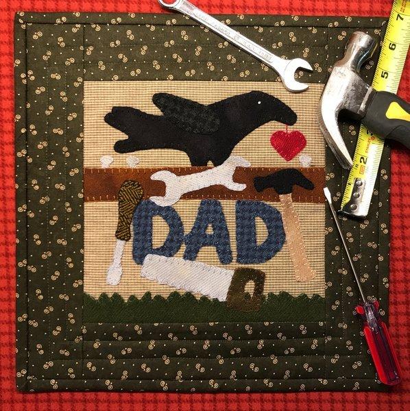 Crow Celebrates DAD Pattern & Kit