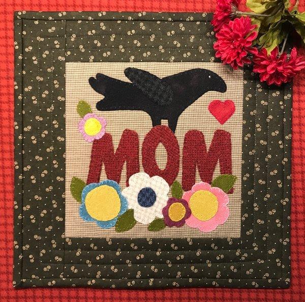 Crow Celebrates Mom Pattern & Kit