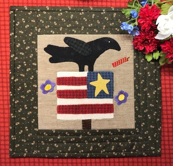 Crow Celebrates the 4th Pattern & Kit