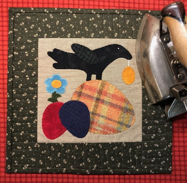 Crow Egg Hunt Pattern & Kit