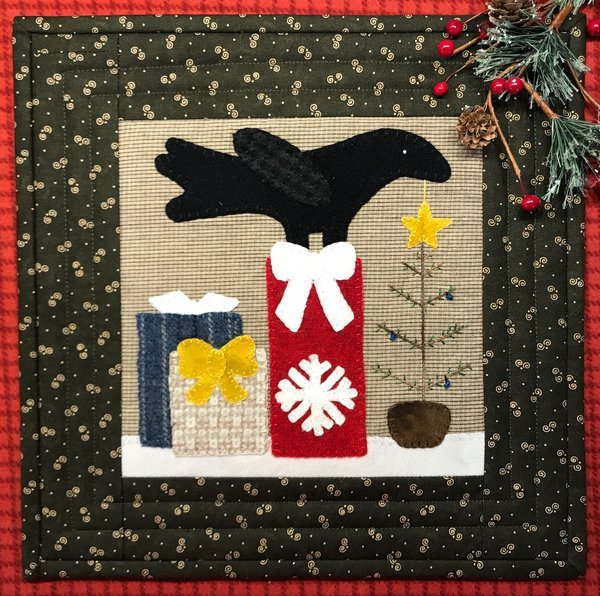 Crows Holiday Gifts Pattern & Kit