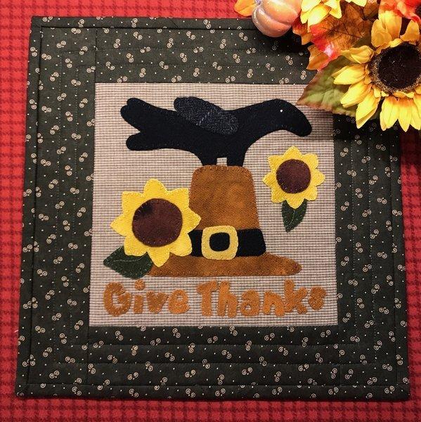 Crows Thanksgiving Pattern & Kit