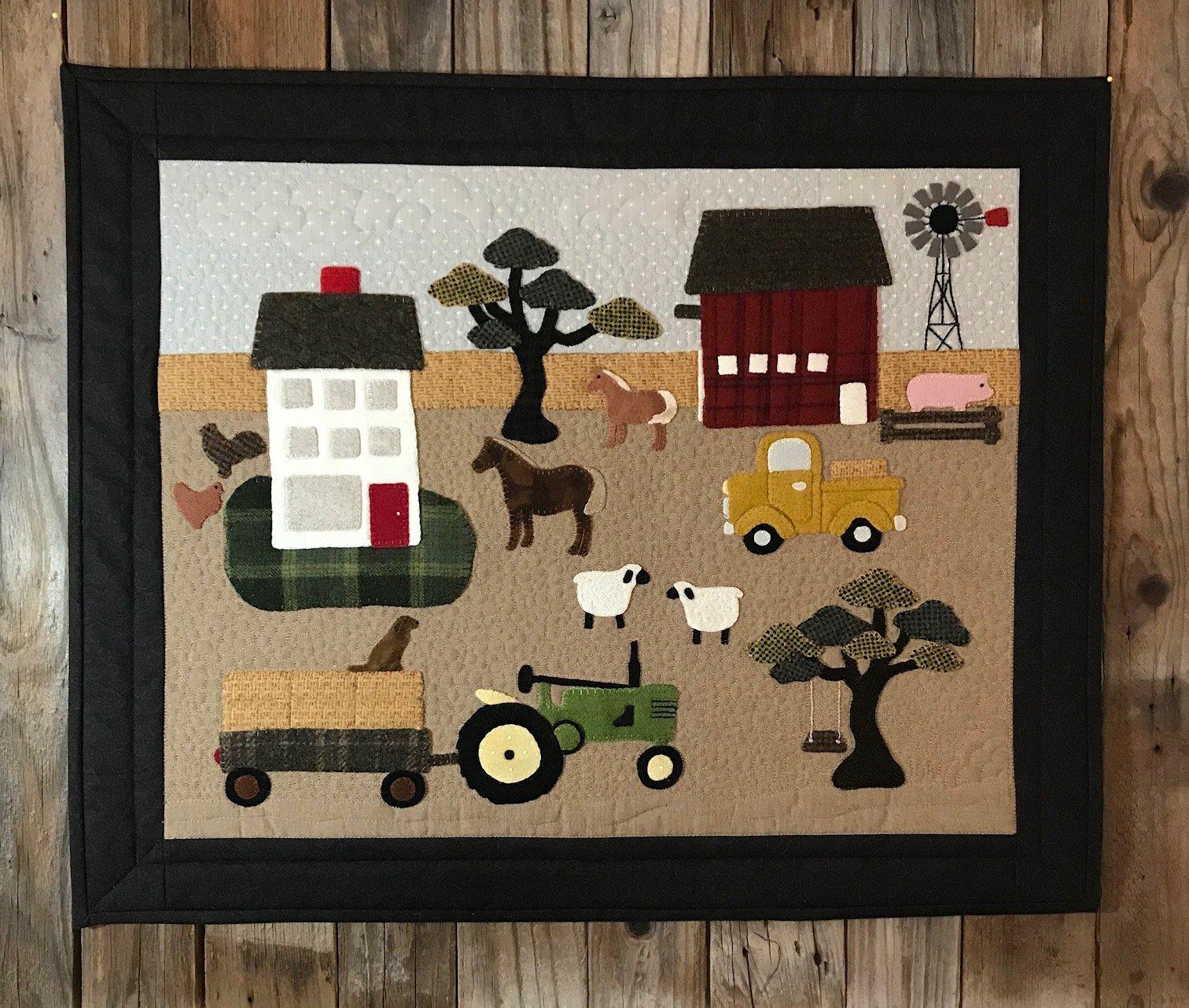 Farm Livin Pattern & Kit
