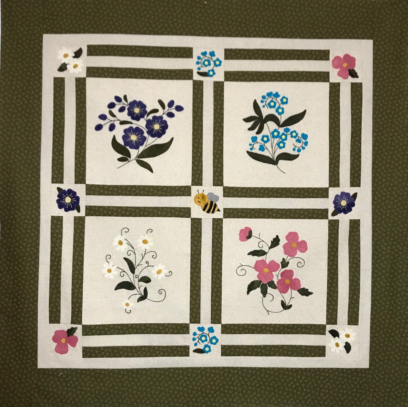 Spring In Bloom Pattern