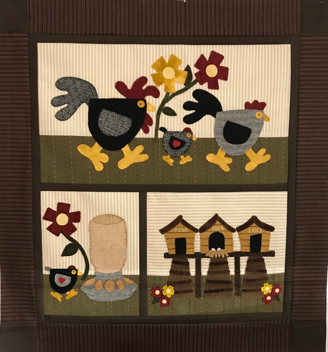 LoLa's Chicken Coop Pattern
