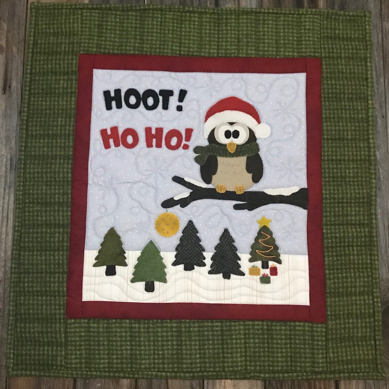 Christmas Owl Pattern