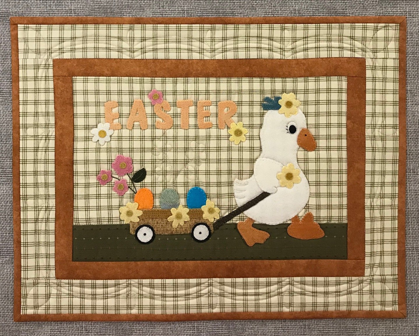 Penelope the Easter Duck Pattern