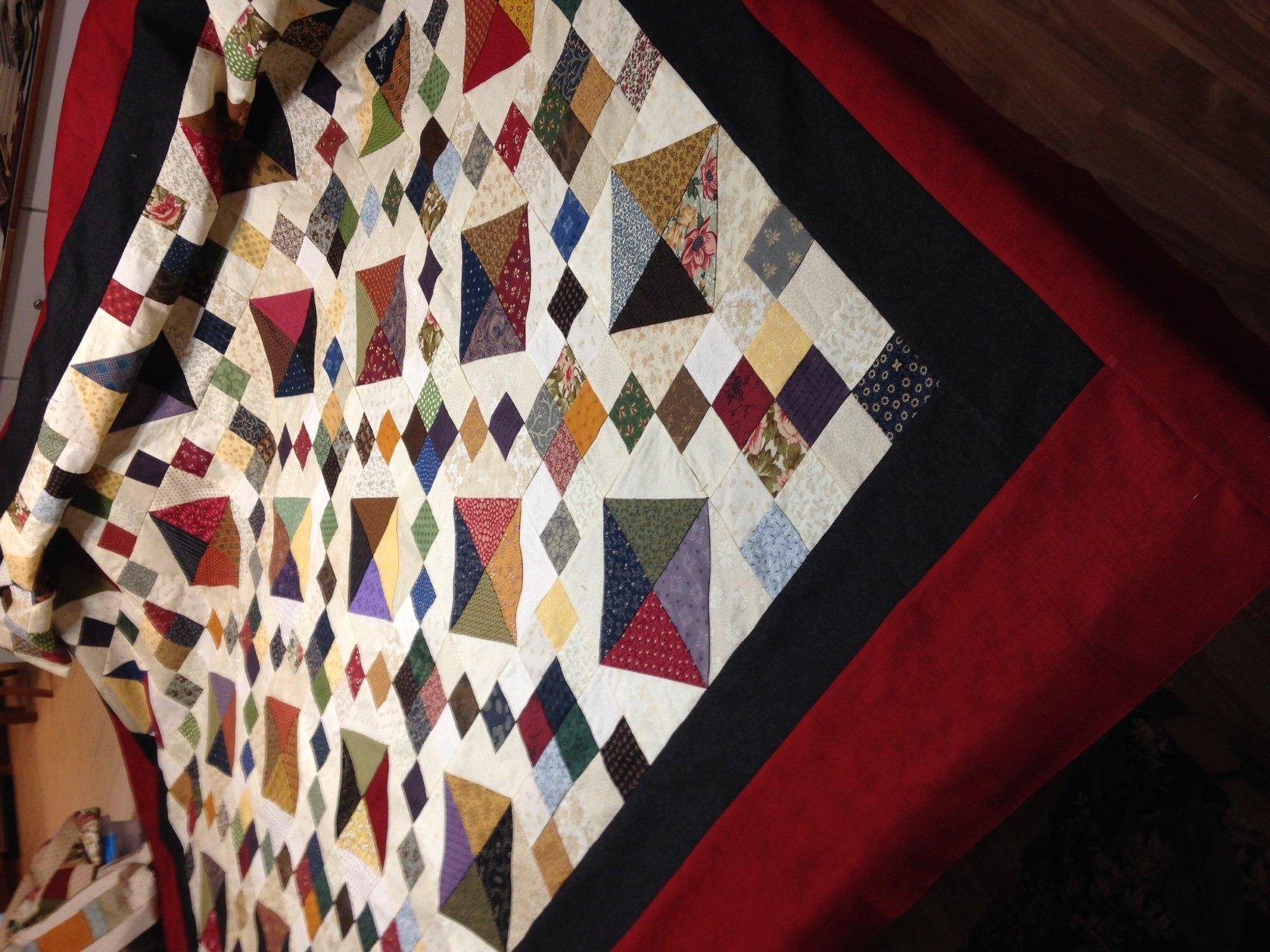Scrappy Ann's Dream Quilt Pattern