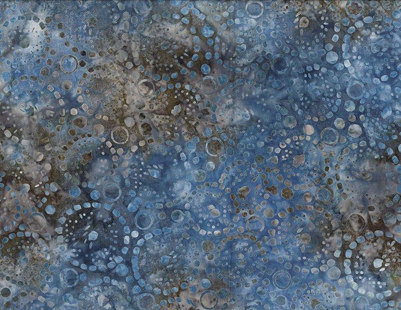 Dotted Circles Light Blue