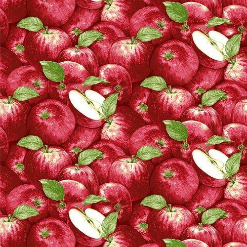 Apple Festival Packed Apples Red